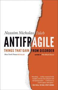 5. Antifragile by Nassim Taleb